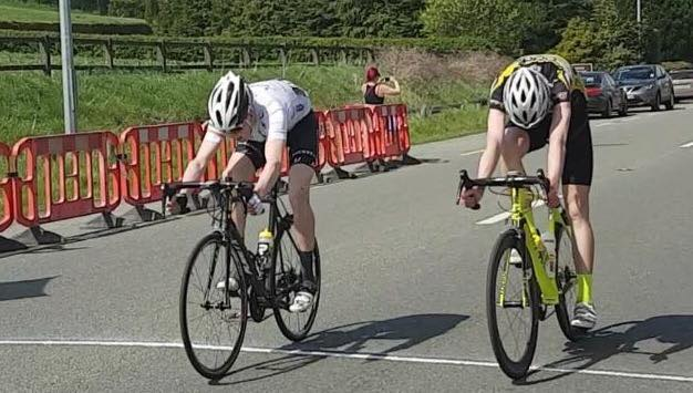 Peter Leahy takes second in the 2016 edition of the Deenside Cup A3 race