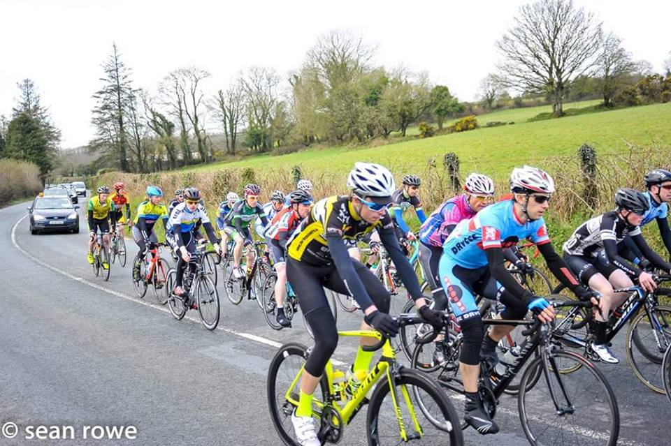 Peter Leahy on his way to 10th place in Dungarvan